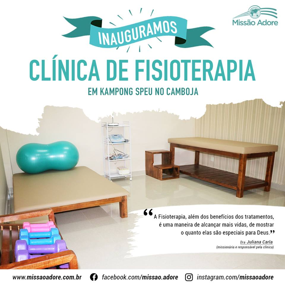 Inauguração: Clínica de Fisioterapia